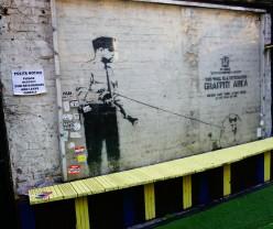 Shoreditch, een echte Banksy