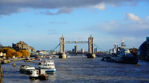 Tower Bridge over de Theems