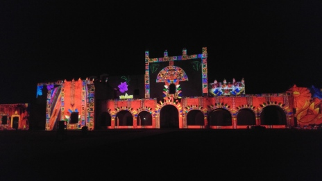 Valladolid, San Bernardino video mapping