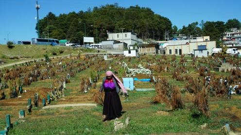 San Juan de Chamula, begraafplaats