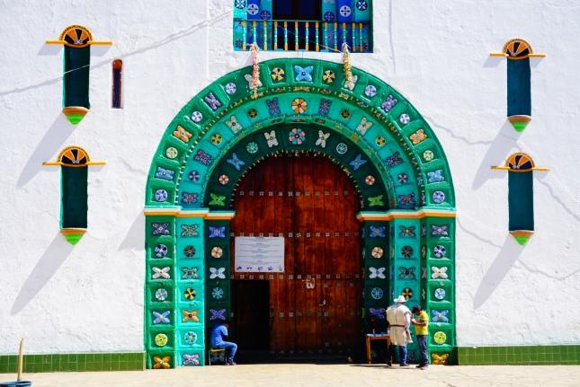 San Juan de Chamula, kerk