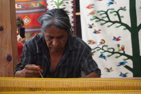 Oaxaca, weeffabriek